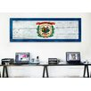 iCanvas Flags West Virginia Wood Planks Panoramic Graphic Art on Canvas