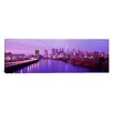 iCanvas Panoramic Twilight Philadelphia, Pennsylvania Photographic Print on Canvas