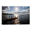 "iCanvas ""Sunrise at Crooked Lake, Conway, Michigan 2010"" by Monte Nagler Photographic Print on Wrapped Canvas"