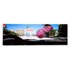 iCanvas Panoramic Welcome Sign Board at a Road Side Viewed from a Car, Las Vegas, Nevada Photographic Print on Canvas