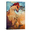 iCanvas 'Summer' by Alphonse Mucha Painting Print on Canvas