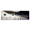 iCanvas Panoramic Ski Lift in a Ski Resort, Sankt Anton am Arlberg, Tyrol, Austria Photographic Print on Canvas