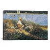 iCanvas 'Watching the Harbor 1873' by Winslow Homer Painting Print on Canvas