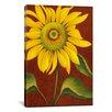 "iCanvas ""Sunflower"" Canvas Wall Art by John Zaccheo"