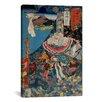 iCanvas 'Takazaki Station' by Kuniyoshi Painting Print on Canvas