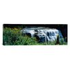 iCanvas Panoramic Waterfall in a Park, Middle Falls, Genesee, Letchworth State Park, New York State Photographic Print on Canvas