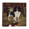 "iCanvas ""Tama (The Japanese Dog)"" Canvas Wall Art by Pierre-Auguste Renoir"