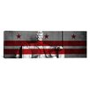 iCanvas Washington Flag, D.C, #3 Lincoln Memorial Graphic Art on Wrapped Canvas