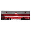 iCanvas Flags Washington, D.C Capitol Building Panoramic Graphic Art on Wrapped Canvas