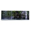 iCanvas Panoramic Mossbrae Falls, Sacramento River, Siskiyou County, California Photographic Print on Wrapped Canvas
