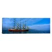 iCanvas Panoramic Tall Ships Race Photographic Print on Wrapped Canvas