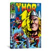 iCanvas Marvel Comics Book Thor Issue Cover 158 Graphic Art on Canvas