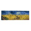 iCanvas 'Wheatfield with Crows' by Vincent Van GoghPainting Print on Canvas