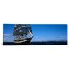 iCanvas Panoramic Tall Ships Race in the Ocean, Baie De Douarnenez, Finistere, Brittany, France Photographic Print on Canvas