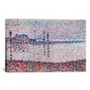 iCanvas 'Study For The Channel At Gravelines' by Georges Seurat Painting Print on Wrapped Canvas