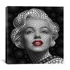 iCanvas 'Marilyn Monroe' by Ben Heine Graphic Art on Wrapped Canvas