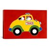 """iCanvas """"Taxi!"""" by Shelly Rasche Graphic Art on Wrapped Canvas"""
