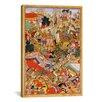 iCanvas Hindu Tayang Khan Presented with Head of Mongol Leader Ong Khan Painting Print on Canvas