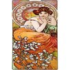 iCanvas Topaz, 1900 by Alphonse Mucha Graphic Art on Wrapped Canvas