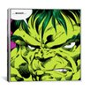 iCanvas Marvel Comic Book Hulk Art Panel F Graphic Art on Canvas