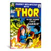 iCanvas Marvel Comic Book Thor Issue Cover #120 Graphic Art on Canvas