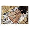 iCanvas The Embrace (The Loving) by Egon Shiele Painting Print on Wrapped Canvas