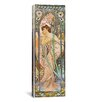 iCanvas Evening Reverie, 1899 by Alphonse Mucha Graphic Art on Wrapped Canvas