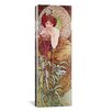 iCanvas Emerald, 1900 by Alphonse Mucha Graphic Art on Wrapped Canvas