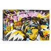 iCanvas Dan Monteavaro Surprise B Graphic Art on Wrapped Canvas