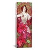 iCanvas Alphonse Mucha Ruby, 1900 Graphic Art on Wrapped Canvas