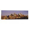 iCanvas Panoramic Denver Skyline Cityscape Photographic Print on Wrapped Canvas