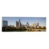 iCanvas Austin Panoramic Skyline Cityscape Photographic Print on Canvas in Color