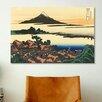 iCanvas 'Dawn at Isawa in the Kai Province' by Katsushika Hokusai Painting Print on Canvas