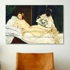 iCanvas 'Olympia' by Edouard Manet Painting Print on Canvas