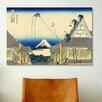 iCanvas 'Mitsui Shop on Suruga Street in Edo' by Katsushika Hokusai Painting Print on Canvas