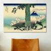 iCanvas 'Mishima Pass in Kai Province' by Katsushika Hokusai Painting Print on Canvas