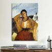 iCanvas 'Gypsy with a Cigarette' by Edouard Manet Painting Print on Canvas