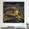 iCanvas 'Elohim Creating Adam' by William Blake Painting Print on Canvas