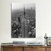 """iCanvas """"Empire State Building (New York City)"""" by Christopher Bliss Photographic Print on Canvas"""