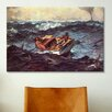 iCanvas 'Gulf Stream' by Winslow Homer Painting Print on Canvas