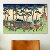 iCanvas 'Hodogaya on the Tokaido' by Katsushika Hokusai Painting Print on Canvas