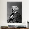 iCanvas Political Frederick Douglass Portrait Photographic Print on Canvas