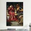 iCanvas 'Jason and Medea' by John William Waterhouse Painting Print on Canvas