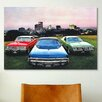 iCanvas Cars and Motorcycles Dodge Monaco, Charger, Dart Photographic Print on Canvas