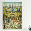 iCanvas 'Full Central Panel from the Garden of Earthly Delights' by Hieronymous Bosch Painting Print on Canvas