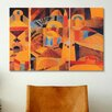 iCanvas 'Il Giardino Del Tempio' by Paul Klee Painting Print on Canvas