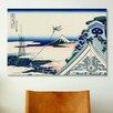 iCanvas 'Asakusa Honganji Temple in the Eastern Capital' by Katsushika Hokusai Painting Print on Canvas
