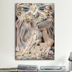 iCanvas 'Job's Sons and Daughters Overwhelmed by Satan' by William Blake Painting Print on Canvas