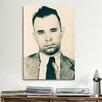 iCanvas John Dillinger - Gangster Mugshot Photographic Print on Canvas