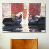 iCanvas 'Afterglow 1883' by Winslow Homer Painting Print on Canvas